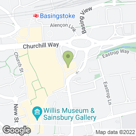 Map of La Tasca in Basingstoke, hampshire