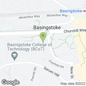 Map of Shade Ahead in Basingstoke, hampshire