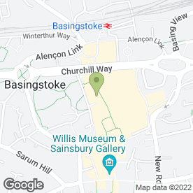 Map of Linens Direct Ltd in Basingstoke, hampshire