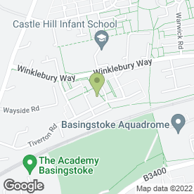Map of Cake & Lace Weddings in Basingstoke, hampshire