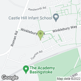 Map of G & G Landscapers in Basingstoke, hampshire