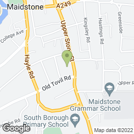 Map of Marshams in Maidstone, kent