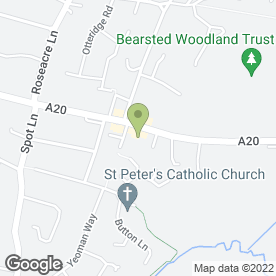 Map of Alan Skues Electrical in Bearsted, Maidstone, kent