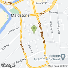 Map of Enterprise Rent-A-Car in Maidstone, kent