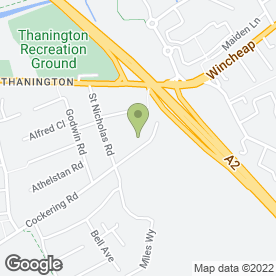 Map of Practical Car & Van Rental in Canterbury, kent