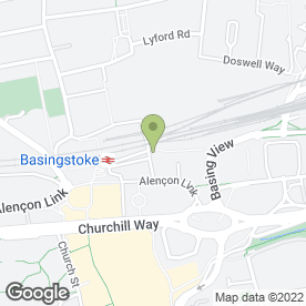Map of Langdowns DFK Ltd in Basingstoke, hampshire