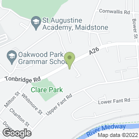 Map of St. Michaels Dental Surgery in Maidstone, kent