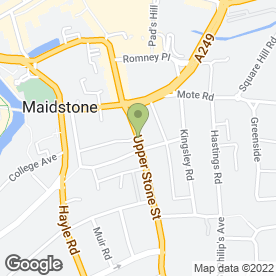 Map of Flawless Hair in Maidstone, kent