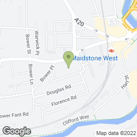 Map of Citizens Advice Bureau in Maidstone, kent