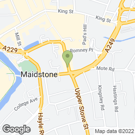Map of Roll-Inn in Maidstone, kent