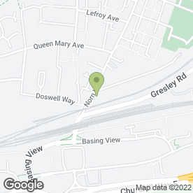 Map of Norn Hill Stores in Basingstoke, hampshire