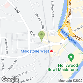 Map of Majestic Wine Warehouses Ltd in Maidstone, kent