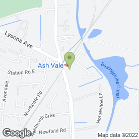 Map of FRAME SMITH in Ash Vale, Aldershot, hampshire