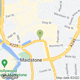 Map of Crowe Clark Whitehill LLP in Maidstone, kent