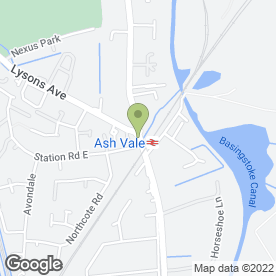 Map of Mark Williams Associates in Ash Vale, Aldershot, hampshire