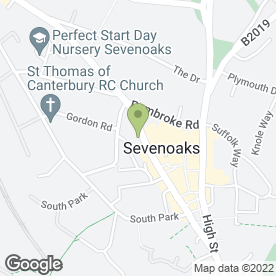 Map of BEAUTIQUE in Sevenoaks, kent