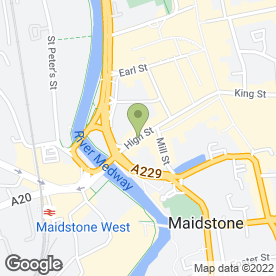 Map of Tonibell Ice Cream Van Hire in Maidstone, kent