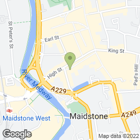 Map of Doo-Das in Maidstone, kent
