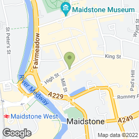 Map of The Sun in MAIDSTONE, kent