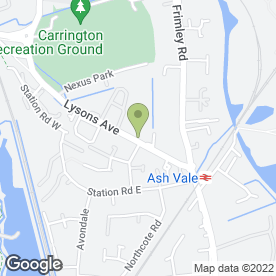 Map of CITROEN CAR CENTRE in Ash Vale, Aldershot, hampshire
