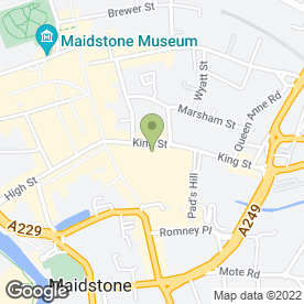 Map of Connells Residential in Maidstone, kent