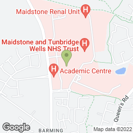Map of On Call Care Ltd in Maidstone, kent