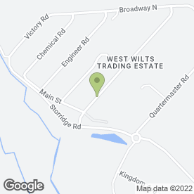 Map of Eagle Plant in Westbury, wiltshire