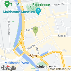 Map of Pro Bu in Maidstone, kent