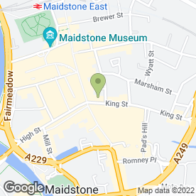 Map of Gill Turner Tucker in Maidstone, kent