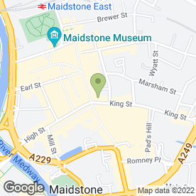 Map of Greggs in Maidstone, kent