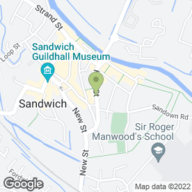 Map of Intelligent Martial Arts in Sandwich, kent