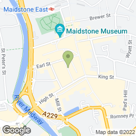 Map of Sim 3 Mobile Phone Service Centre in Maidstone, kent