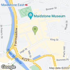 Map of Bar Chocolate in Maidstone, kent