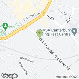 Map of Canterbury Health Centre & Sturry Surgery & Partners in Canterbury, kent