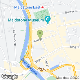Map of EARL STREET EMPLOYMENT CONSULTANTS in Maidstone, kent