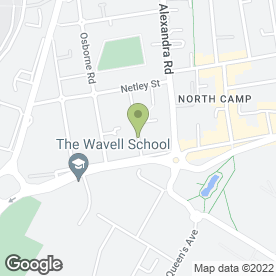Map of Pear Tree Day Nursery in Farnborough, hampshire