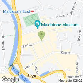 Map of The Druids Arms in Maidstone, kent