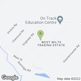 Map of Timber & Allied Services in West Wilts Trading Estate, Westbury, wiltshire