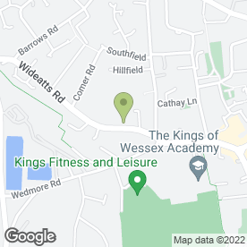 Map of CHEDDAR HIRE CENTRE in Cheddar, somerset