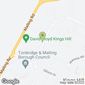 Map of Helsin Finance Ltd in Kings Hill, West Malling, kent