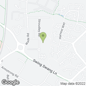 Map of Comfort Building Services Ltd in Basingstoke, hampshire