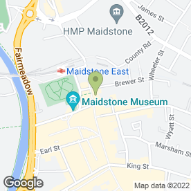 Map of McDonald's Restaurants Ltd in Maidstone, kent