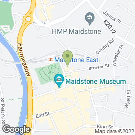 Map of Air Travel Consultants in Maidstone, kent
