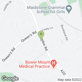 Map of Cels in Maidstone, Kent