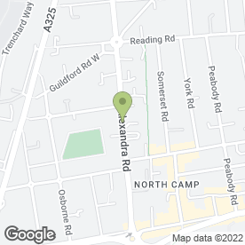Map of Northern Stars Day Nursery in Farnborough, hampshire