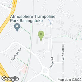 Map of Beton Construction Materials in Basingstoke, hampshire