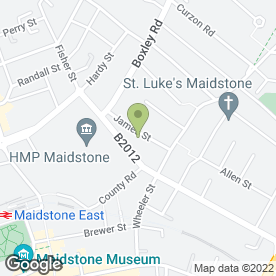 Map of RTS Creative Ltd in Maidstone, kent