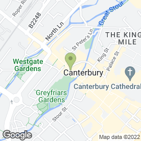 Map of Third Eye in Canterbury, kent