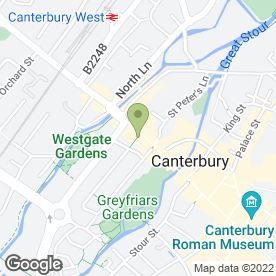 Map of Smith Shaver Service in Canterbury, kent