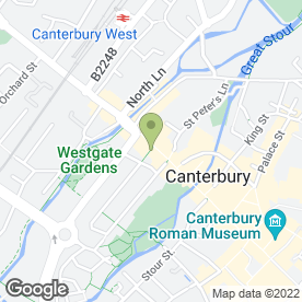Map of DOO-DAS in Canterbury, kent